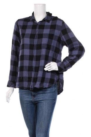 Дамска риза H&M L.O.G.G., Размер XL, Цвят Лилав, Памук, Цена 13,39лв.
