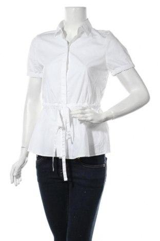 Дамска риза Hugo Boss, Размер M, Цвят Бял, 95% памук, 5% еластан, Цена 92,95лв.