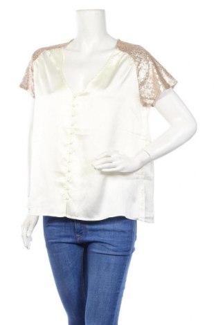 Дамска риза Irl, Размер L, Цвят Бял, Полиестер, Цена 27,30лв.