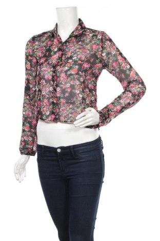 Дамска риза Jennyfer, Размер XS, Цвят Многоцветен, Полиестер, Цена 13,50лв.