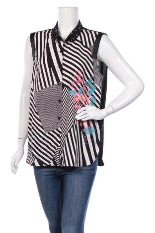 Дамска риза La Mode Est A Vous, Размер XL, Цвят Многоцветен, Вискоза, полиестер, Цена 20,80лв.