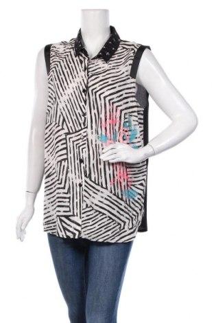 Дамска риза La Mode Est A Vous, Размер XL, Цвят Многоцветен, Вискоза, полиестер, Цена 34,00лв.