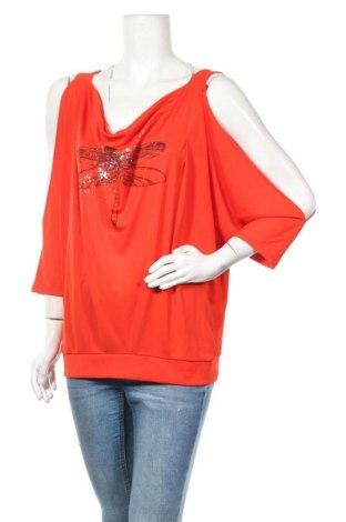 Дамска риза La Mode Est A Vous, Размер L, Цвят Розов, Полиестер, Цена 31,85лв.