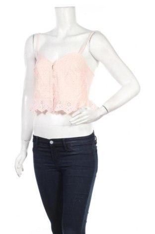 Γυναικείο πουκάμισο Lefties, Μέγεθος M, Χρώμα Ρόζ , 100% βαμβάκι, Τιμή 5,76€