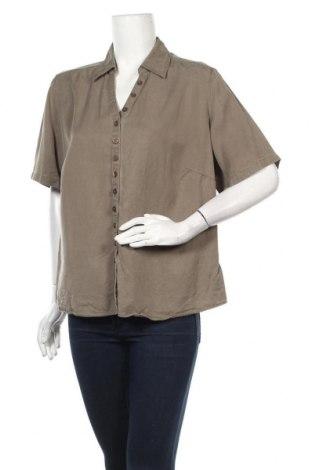 Дамска риза Marks & Spencer, Размер L, Цвят Зелен, Цена 23,00лв.