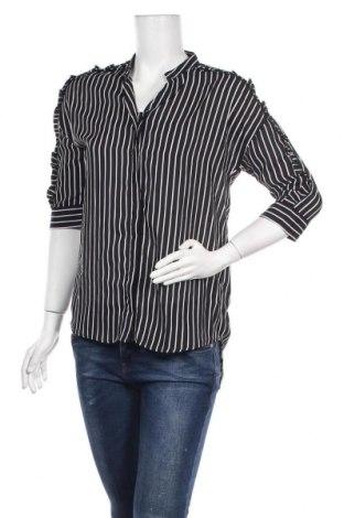Γυναικείο πουκάμισο Molly Bracken, Μέγεθος XS, Χρώμα Μαύρο, Πολυεστέρας, Τιμή 6,70€
