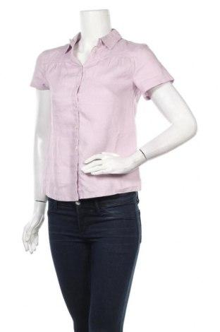 Дамска риза More & More, Размер XS, Цвят Лилав, Лен, Цена 9,10лв.