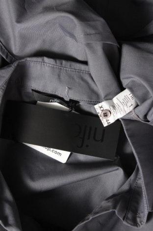 Дамска риза Nife, Размер XL, Цвят Сив, 60% памук, 40% полиестер, Цена 31,85лв.