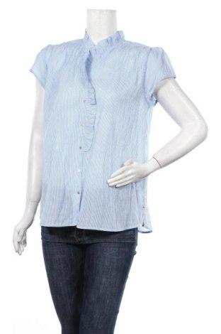 Γυναικείο πουκάμισο Noa Noa, Μέγεθος L, Χρώμα Μπλέ, Βαμβάκι, Τιμή 29,82€