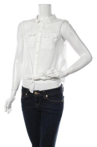 Дамска риза ONLY, Размер L, Цвят Бял, Полиестер, Цена 18,20лв.