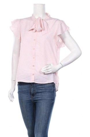 Дамска риза ONLY, Размер M, Цвят Розов, Полиестер, Цена 32,76лв.