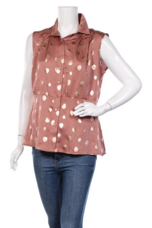 Дамска риза Orna Farho, Размер XL, Цвят Кафяв, Полиестер, Цена 39,00лв.