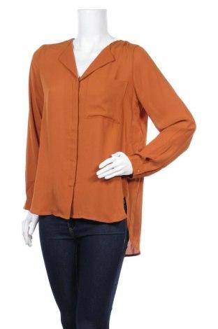 Дамска риза Selected Femme, Размер M, Цвят Кафяв, Полиестер, Цена 13,80лв.