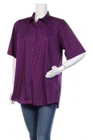 Дамска риза Trutex, Размер XXL, Цвят Лилав, 65% полиестер, 35% памук, Цена 25,52лв.