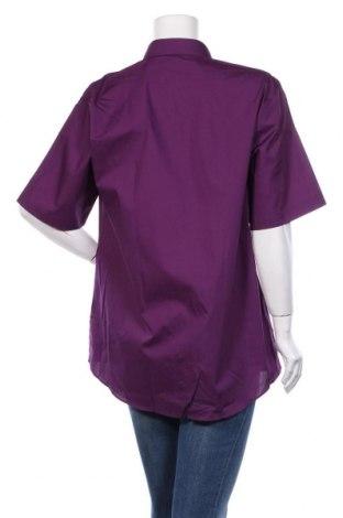 Дамска риза Trutex, Размер XL, Цвят Лилав, 65% полиестер, 35% памук, Цена 25,52лв.