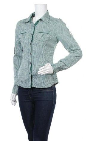 Дамска риза Vero Moda, Размер M, Цвят Зелен, Памук, Цена 9,45лв.