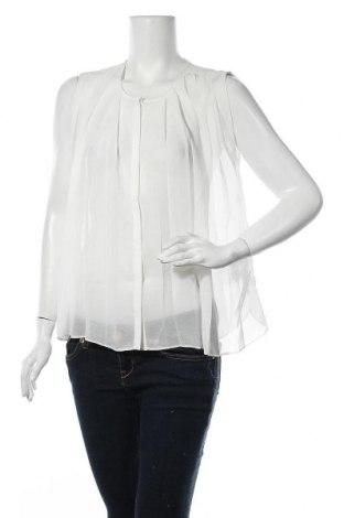 Дамска риза Vila, Размер S, Цвят Бял, Полиестер, Цена 22,68лв.