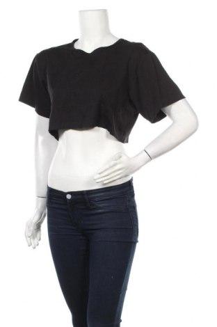 Дамска тениска Alexander Wang For H&M, Размер XL, Цвят Черен, Цена 15,68лв.