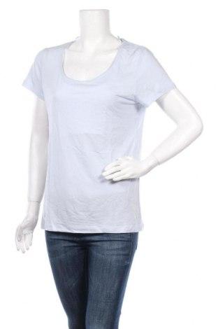 Дамска тениска Burton of London, Размер M, Цвят Син, 80% тенсел, 20% лен, Цена 23,40лв.