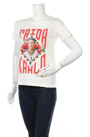 Дамска тениска House, Размер XS, Цвят Бял, Памук, Цена 36,40лв.