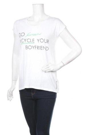 Дамска тениска Guess, Размер S, Цвят Бял, Памук, Цена 44,85лв.