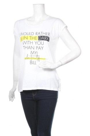 Дамска тениска Guess, Размер S, Цвят Бял, Памук, Цена 46,92лв.