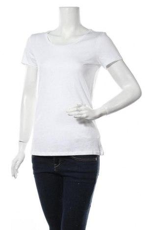 Дамска тениска Jake*s, Размер M, Цвят Бял, 50% памук, 50% модал, Цена 19,71лв.