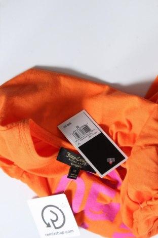 Дамска тениска Juicy Couture, Размер M, Цвят Оранжев, Памук, Цена 37,40лв.