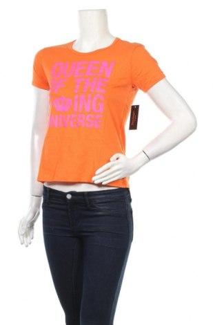 Дамска тениска Juicy Couture, Размер S, Цвят Оранжев, Памук, Цена 37,40лв.