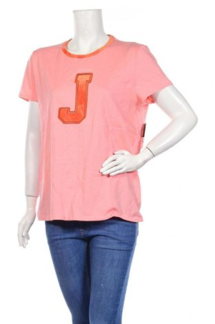 Дамска тениска Juicy Couture, Размер XL, Цвят Розов, 100% памук, Цена 41,60лв.