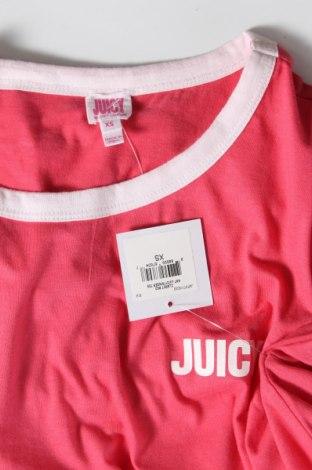 Дамска тениска Juicy Couture, Размер XS, Цвят Розов, 60% памук, 40% полиестер, Цена 34,80лв.