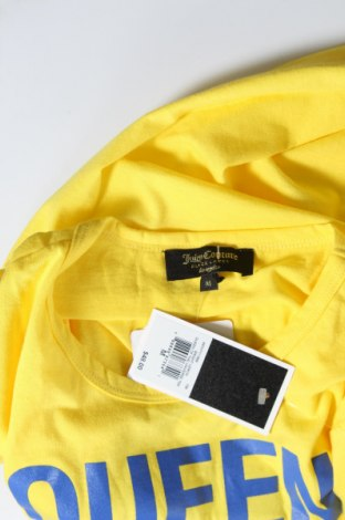 Дамска тениска Juicy Couture, Размер M, Цвят Жълт, Памук, Цена 13,60лв.