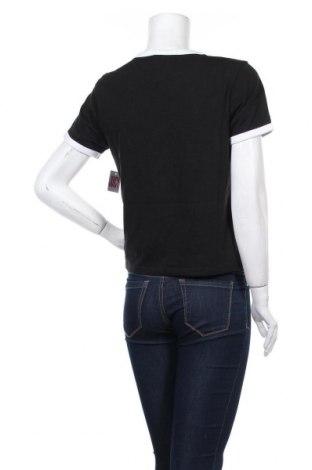 Дамска тениска Juicy Couture, Размер M, Цвят Черен, 60% памук, 40% полиестер, Цена 34,80лв.