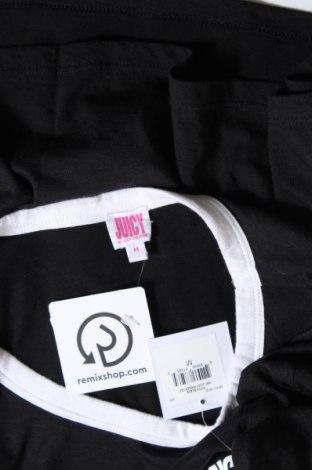 Дамска тениска Juicy Couture, Размер M, Цвят Черен, 60% памук, 40% полиестер, Цена 33,64лв.
