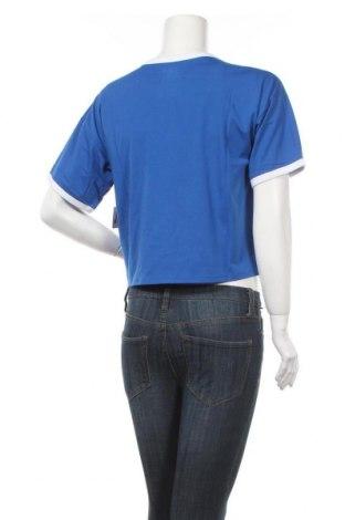 Дамска тениска Juicy Couture, Размер S, Цвят Син, 60% памук, 40% полиестер, Цена 38,28лв.