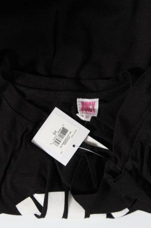 Дамска тениска Juicy Couture, Размер XS, Цвят Черен, 60% памук, 40% полиестер, Цена 37,12лв.