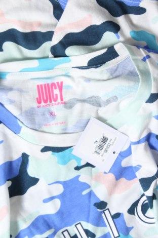 Дамска тениска Juicy Couture, Размер XL, Цвят Многоцветен, 58% памук, 42% полиестер, Цена 37,12лв.