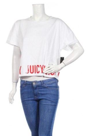 Γυναικείο t-shirt Juicy Couture, Μέγεθος XL, Χρώμα Λευκό, 60% βαμβάκι, 40% πολυεστέρας, Τιμή 12,54€
