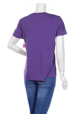 Дамска тениска Juicy Couture, Размер L, Цвят Лилав, 60% памук, 40% полиестер, Цена 37,12лв.