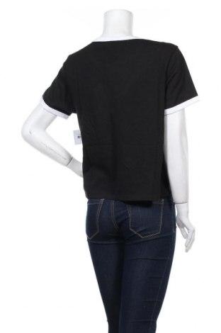 Дамска тениска Juicy Couture, Размер L, Цвят Черен, 60% памук, 40% полиестер, Цена 34,80лв.
