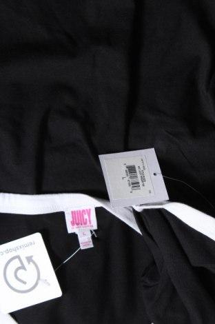 Дамска тениска Juicy Couture, Размер L, Цвят Черен, 60% памук, 40% полиестер, Цена 31,90лв.