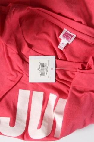 Дамска тениска Juicy Couture, Размер M, Цвят Розов, 60% памук, 40% полиестер, Цена 35,20лв.