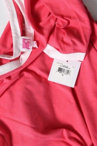 Дамска тениска Juicy Couture, Размер S, Цвят Розов, 60% памук, 40% полиестер, Цена 34,80лв.