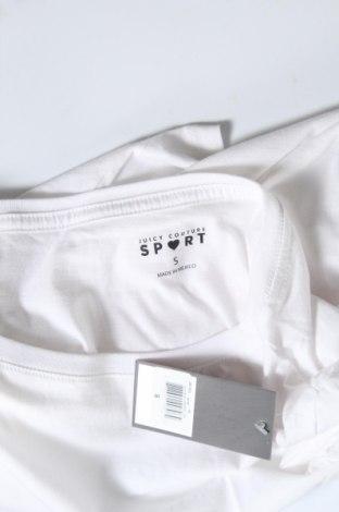 Дамска тениска Juicy Couture, Размер S, Цвят Бял, 100% памук, Цена 37,20лв.
