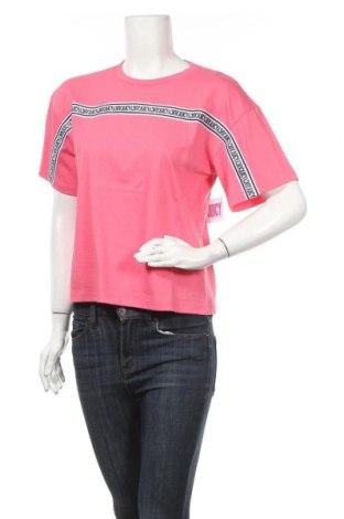 Дамска тениска Juicy Couture, Размер S, Цвят Розов, 60% памук, 40% полиестер, Цена 41,60лв.