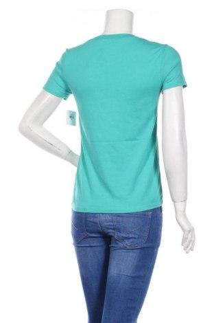 Дамска тениска Juicy Couture, Размер XS, Цвят Зелен, 60% памук, 40% полиестер, Цена 37,12лв.