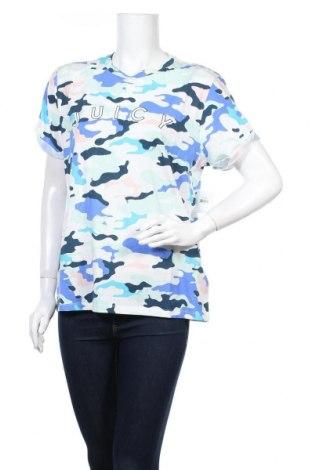 Дамска тениска Juicy Couture, Размер L, Цвят Многоцветен, 58% памук, 42% полиестер, Цена 41,60лв.