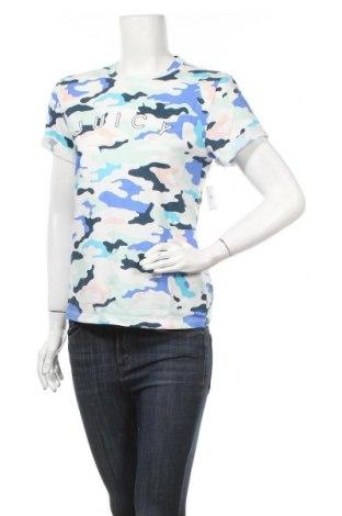 Дамска тениска Juicy Couture, Размер S, Цвят Многоцветен, 58% памук, 42% полиестер, Цена 37,12лв.