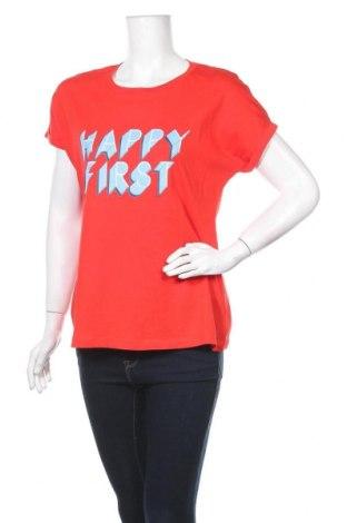 Дамска тениска Lft, Размер M, Цвят Червен, Памук, Цена 16,90лв.
