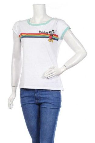 Дамска тениска Manguun, Размер M, Цвят Многоцветен, 100% памук, Цена 44,21лв.